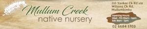 Mullum Creek Native Nursery