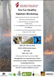 Fire for Healthy Habitats Workshop
