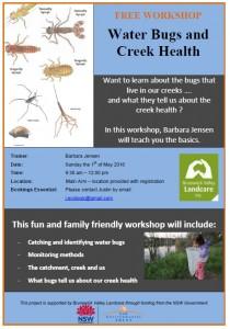 Water Bugs and Creek Health