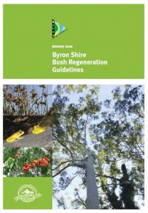 Bush Regen Guidelines